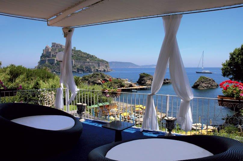 Strand Hotel Delfini Terme - Terrazza